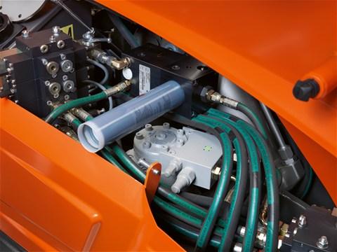 DXR 270 automatisch smeersysteem