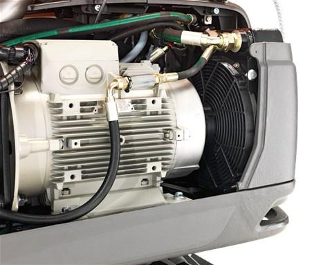 DXR 270 efficiënte koeling